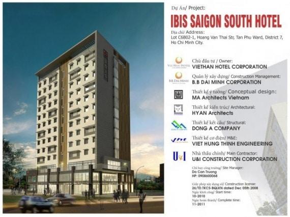 dự Án Ibis Saigon South
