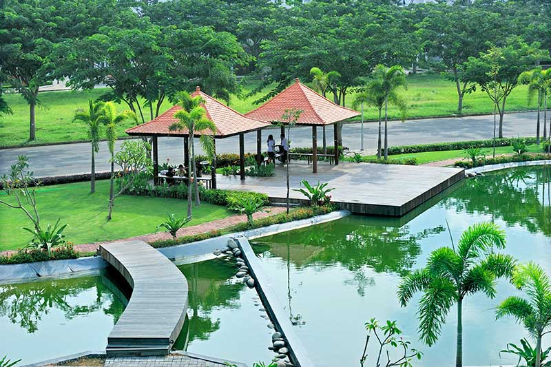 Tiện ích tại Căn hộ Eco Green Saigon