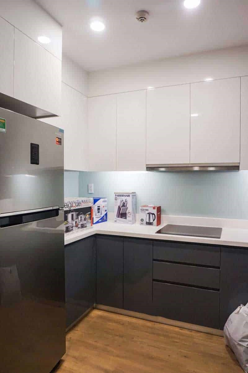 Phòng bếp căn hộ Gold View