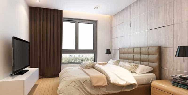 Nội thất Gold View 2 phòng ngủ
