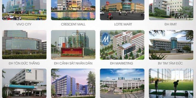 Tiện ích ngoại khu dự án Q7 Riverside Complex Đào Trí