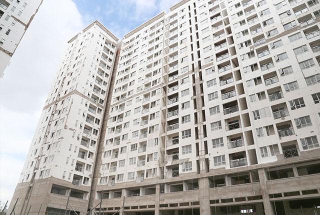 Tiến độ xây dựng căn hộ Florita ngày 08-12-2017