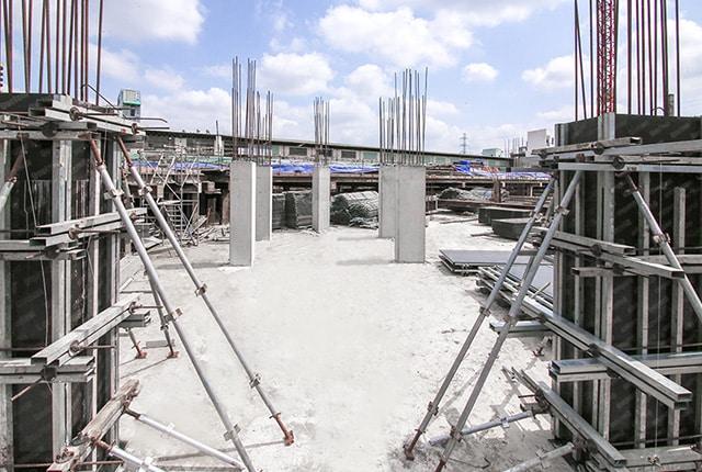 Tiến độ xây dựng Moonlight Boulevard ngày 04-03-2018