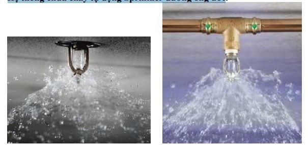 Hệ thống chữa cháy tự động Sprinkler đường ống ướt