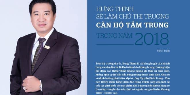 Hung Thinh lam chu thi truong can ho tam trung nam 2018