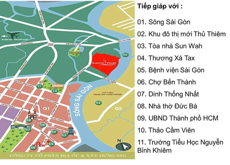 Vị trí Saigon Pearl