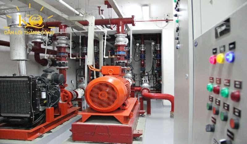 Hệ thống điện tòa nhà Ree Tower