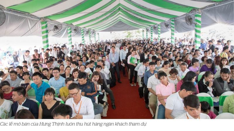 khach hang tham du le mo ban cua Hung Thinh