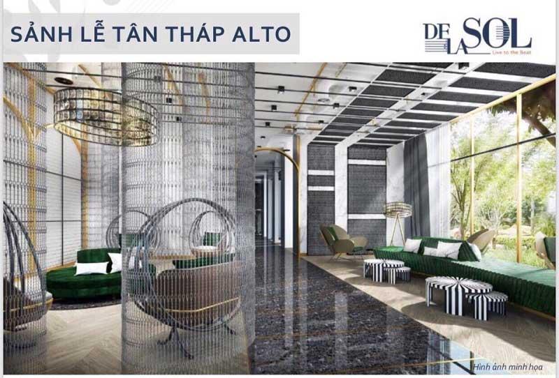 Sảnh lounge De La Sol