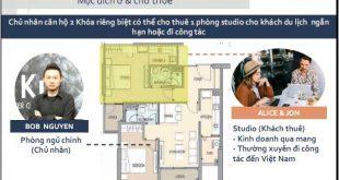 Thiết kế căn hộ Delasol 3 phòng ngủ Doukey