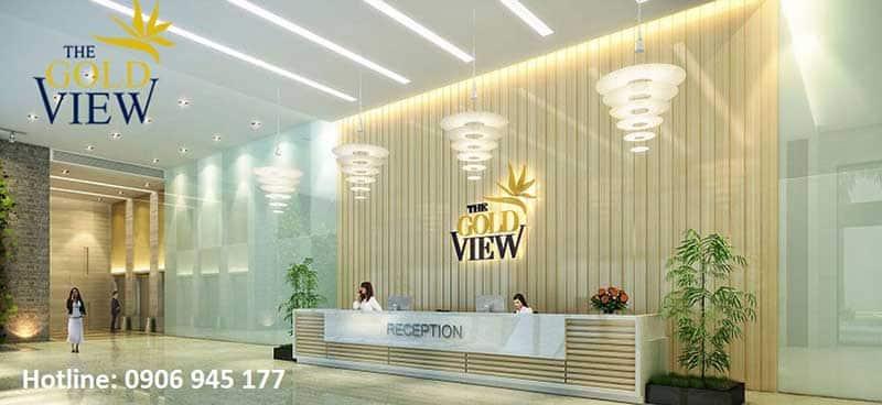Sảnh Lounge tại Gold View