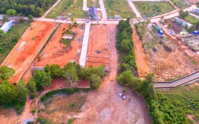 Từ sự buông lỏng quản lý về đất đai của UBND huyện Phú Quốc, nhiều cá nhân, tổ chức đã thi nhau băm nát đào Phú Quốc
