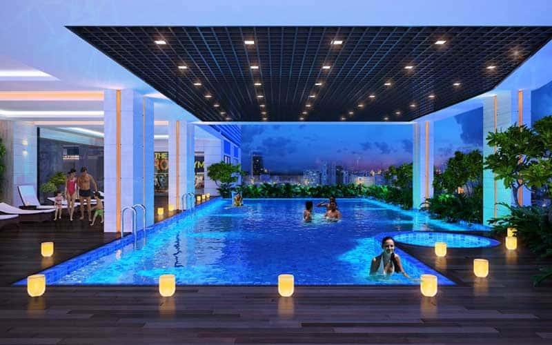 Hồ bơi Res Green Tân Phú