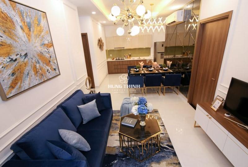 Căn hộ mẫu Q7 Saigon Riverside Complex loại 3 phòng ngủ