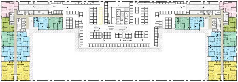 Mặt bằng điển hình căn hộ Kingdom 101