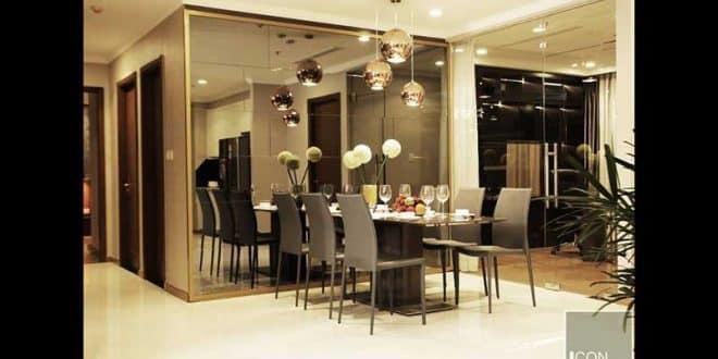 Phòng khách căn hộ Vinhomes tòa Park 2