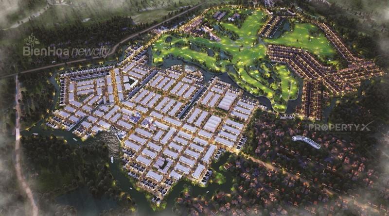 tổng thể Biên Hòa New City
