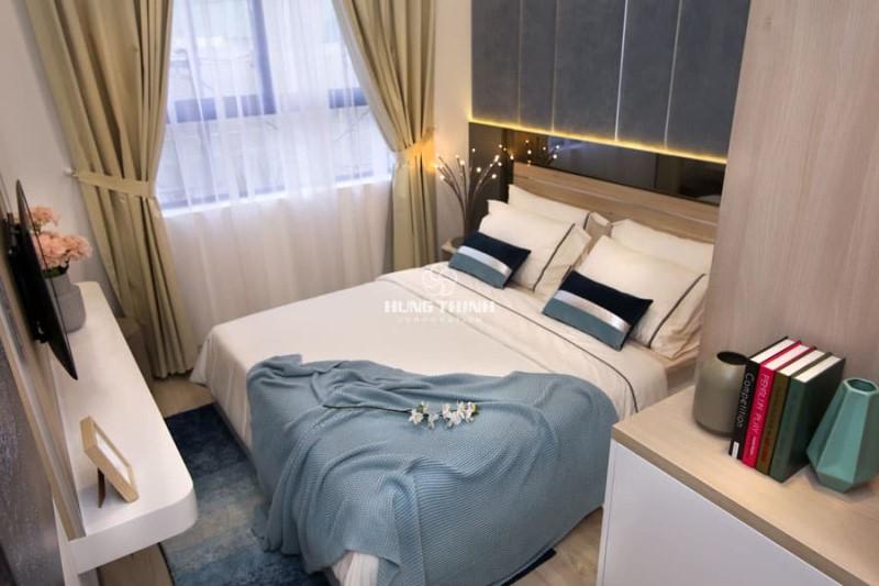 Căn hộ mẫu Universe Bình Tân 2 phòng ngủ