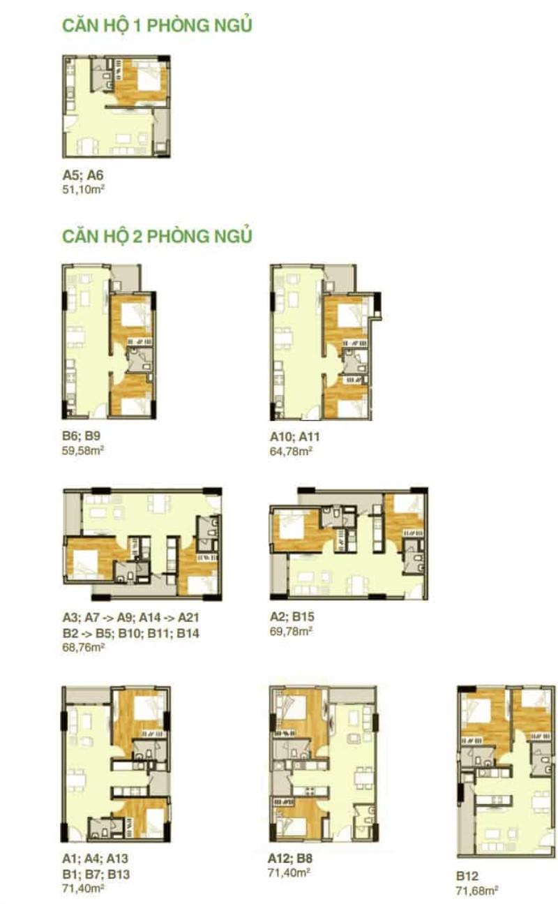 Bảng vẽ thiết kế căn hộ Lavita Garden
