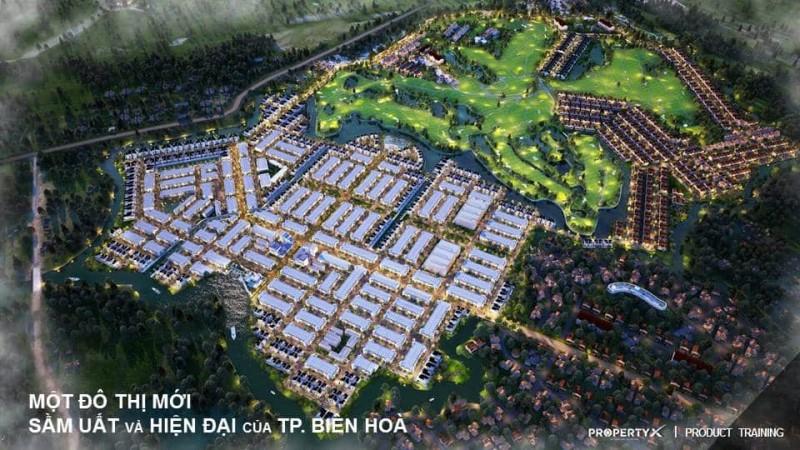 Toàn cảnh khu đô thị sầm uất và hiện đại Biên Hòa New City