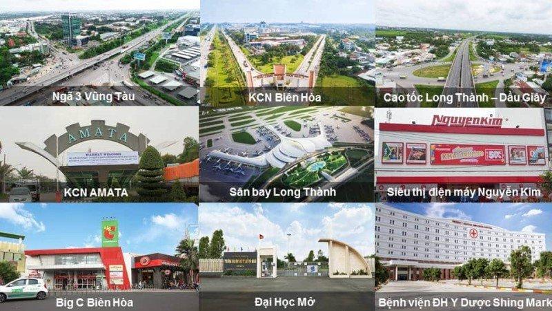 Tiện ích ngoại khu dự án Bienhoanewcity