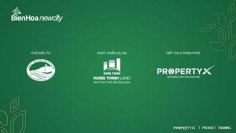Chủ Đầu tư và đơn vị phát triển, phân phối dự án Biên Hòa New City