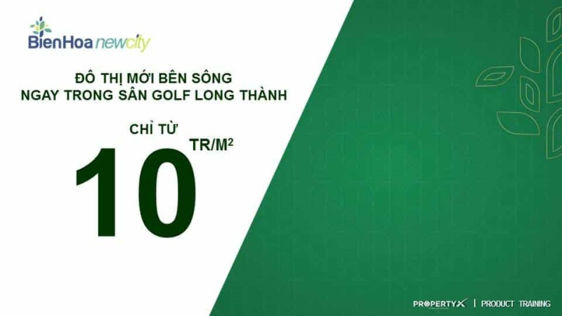 Giá bán đất nền Biên Hòa New City