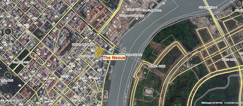 Vị trí Căn hộ Nexus Tower
