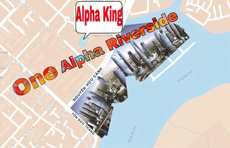 Vị trí One Alpha Riverside