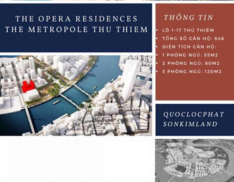 Căn hộ The Metropole