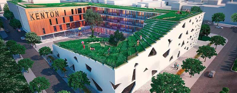 Trường học quốc tế tại Kentone Node