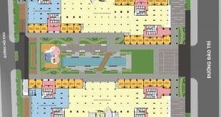 Mặt bằng Shophouse dự án Q7 Saigon Riverside
