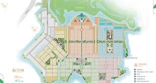 Mặt bằng tổng thể dự án Biên Hòa New City