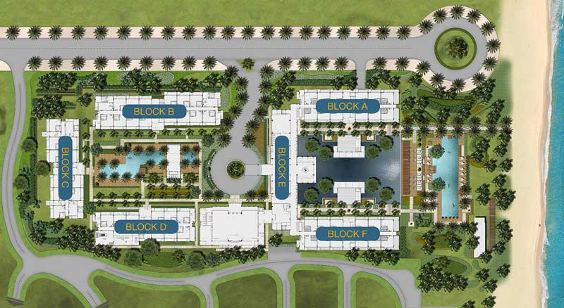 Mặt bằng MGM Hội An Resort