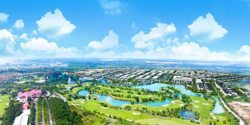Phối cảnh tổng thể dự án Biên Hòa New City
