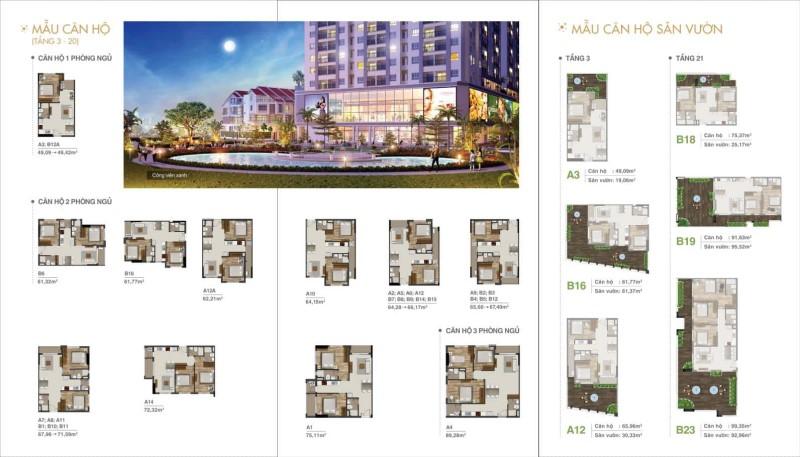 Thiết kế Moonlight Residences Thủ Đức