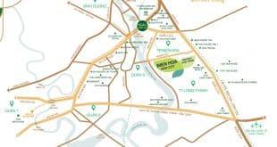 Vị trí khu đô thị Biên Hòa New City