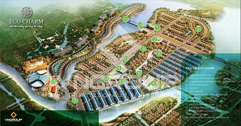 Tiện ích Eco Charm Premier Island