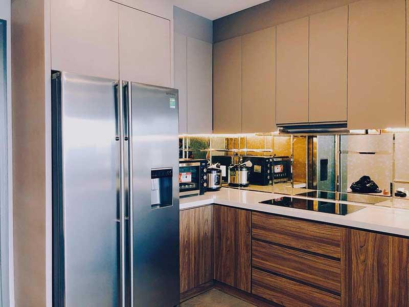 Phòng bếp Gold View 3 phòng ngủ