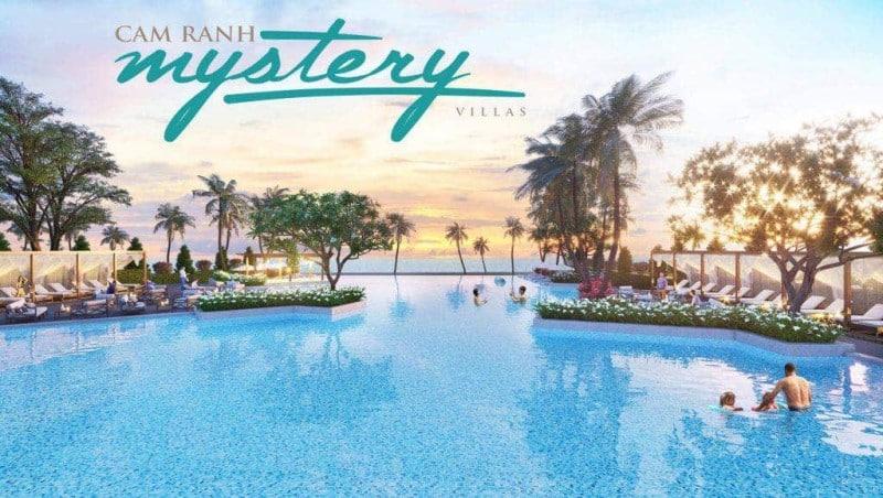 Hồ bơi nước mặn 1.200 m2 tại Cam Ranh Mystery Villas