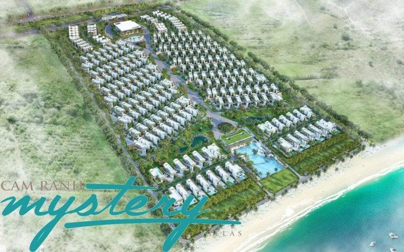 Phối cảnh tổng quan dự án Cam Ranh Mystery Villas