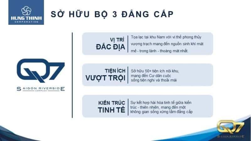 Q7-Saigon-Riverside-Complex sở hữu bộ ba đẳng cấp