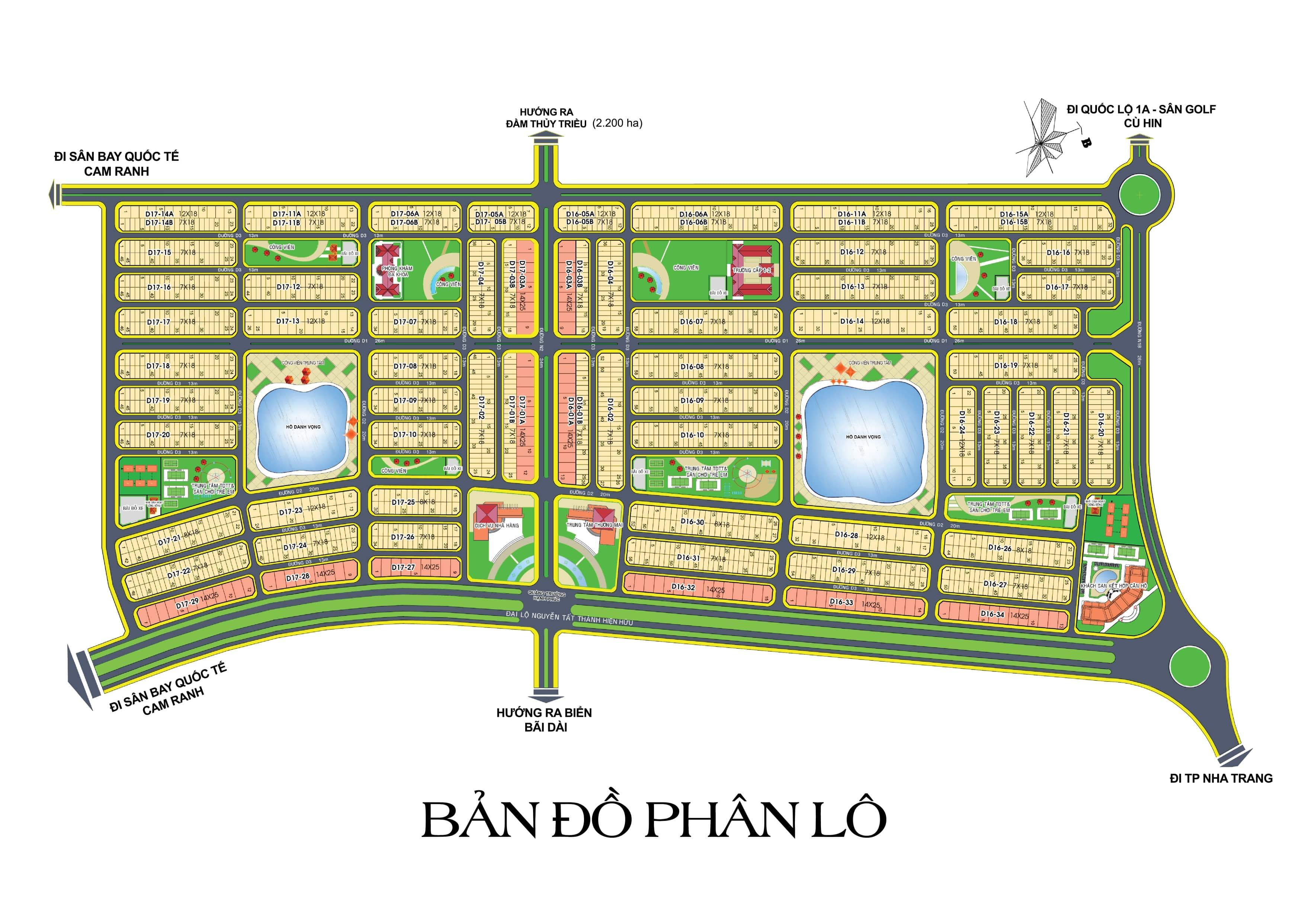Golden Bay Cam Ranh | Giai đoạn 1-2-3 | Bảng giá giỏ hàng 2021