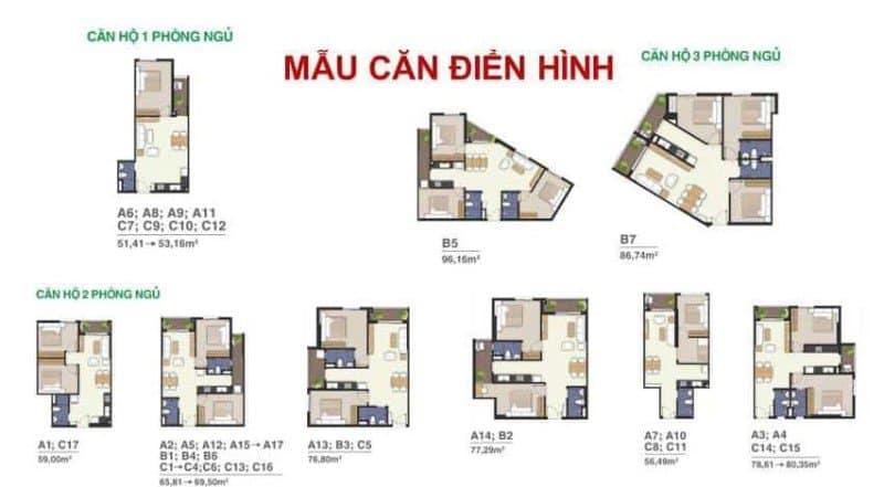 Bản vẽ chi tiết thiết kế căn hộ