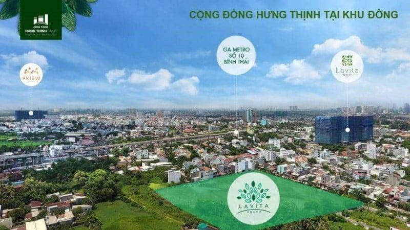 Các dự án của Hưng Thịnh Corp tại khu Đông