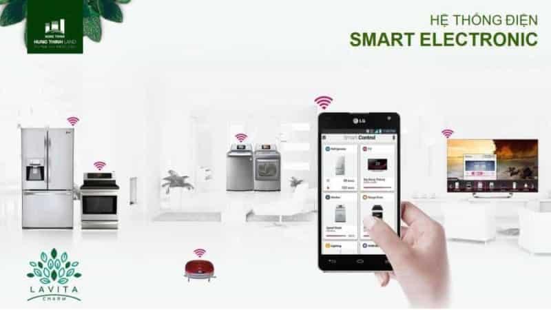 Quản lý căn hộ bằng hệ thống Smart Phone thông minh