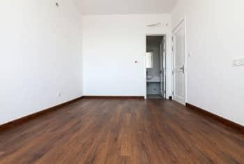 Sàn phòng ngủ lót gỗ công nghiệp cao cấp