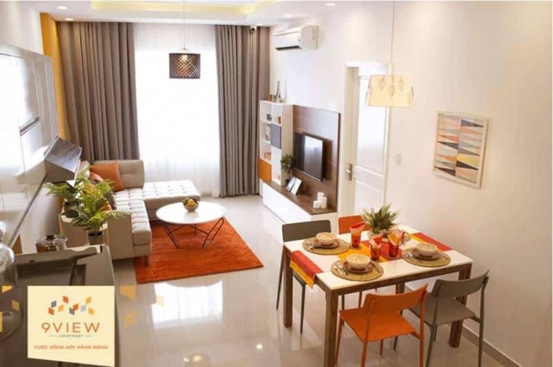 Căn hộ mẫu 9View Apartment