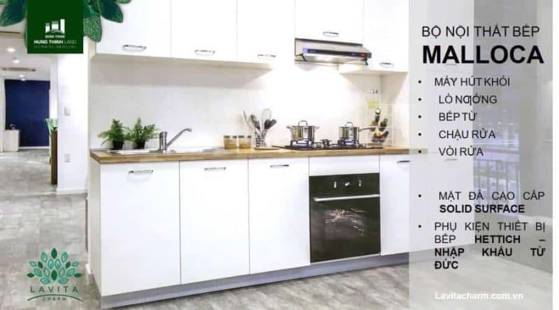 Tặng một bộ nội thất bếp cao cấp MALLOCA cho khách hàng đăng ký mua đợt 1