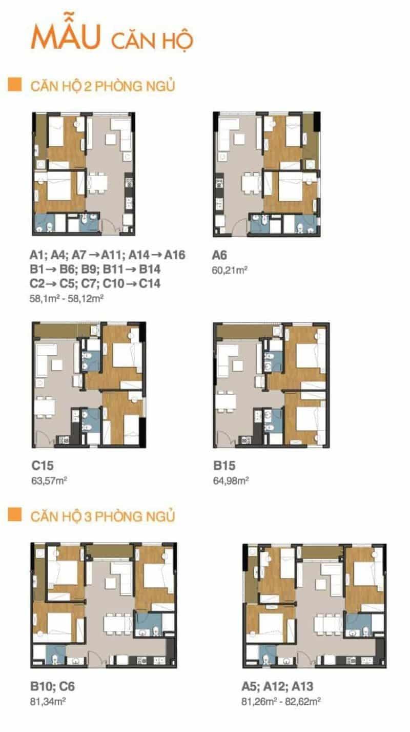 Chi tiết thiết kế căn hộ 9 View